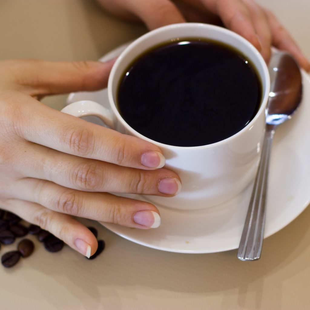 A cup of morning coffee.